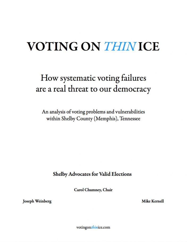 Voting on Thin Ice Report